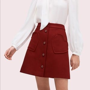 Kate Spade Spade Pocket Skirt